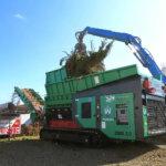 TYRON 2500 2.0 Biomasse und Grünschnittzerkleinerung