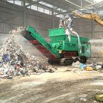 TYRON 2500 XL waste shredding