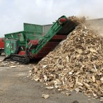 TYRON 1500 XL waste wood shredding