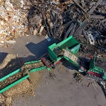 Starscreen HSS 4000 & TYRON waste wood recycling