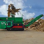 TYRON 2000 XL shredding of waste wood