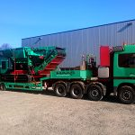 TYRON 2000 XL loading onto truck