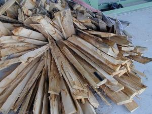 Sägewerksrestholz
