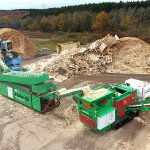 TYRON & Starscreen HSS 6000 & GLADIATOR waste wood recycling