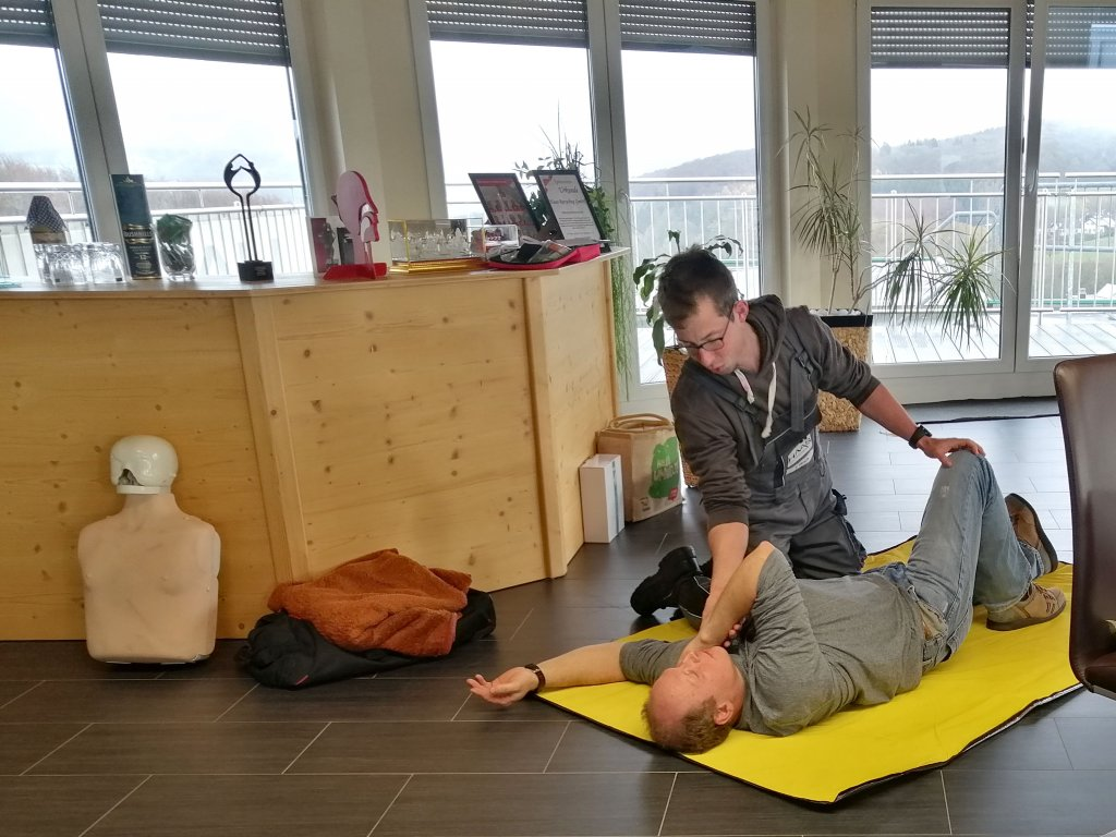 First aid in the company